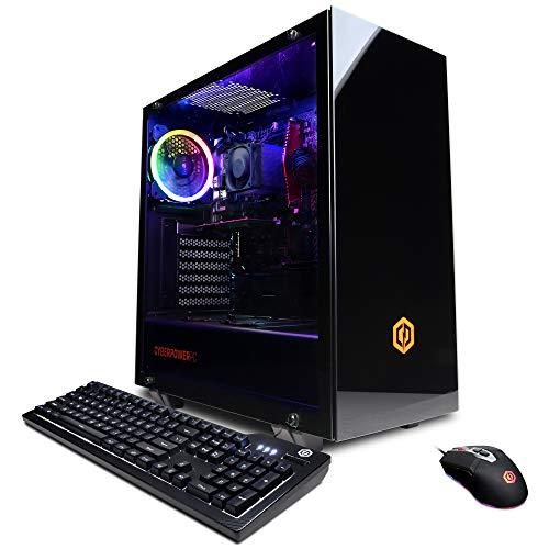 CyberpowerPC Gamer Master Gaming PC, AMD Ryzen 3 2300X 3.5GHz, GeForce GT 1030 2GB, 8GB DDR4, 120GB SSD, 1TB HDD, Wi-Fi…