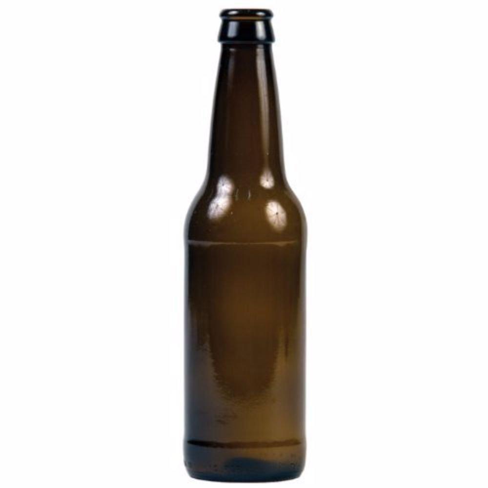 Home Brew Ohio 12 oz Beer Bottles- Amber- Case of 45 (Case of 45)
