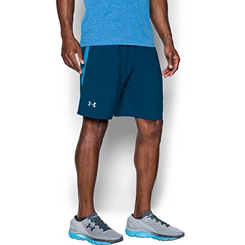 Under Armour Men's Launch SW 9'' Shorts, Blackout Navy/Blackout Navy, Medium