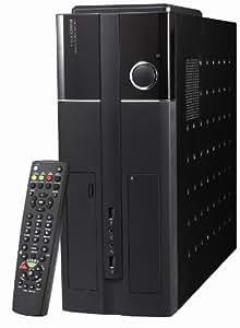 Techsolo TC-300 ATX oN - Caja HTPC, color negro
