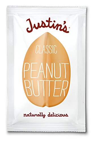 Justin's Peanut Butter, Classic Squeeze Packs, 1.15 Ounce (Pack of 10)