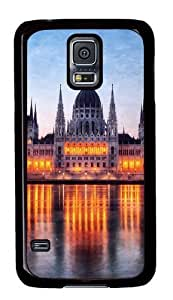 Rugged Samsung Galaxy S5 Case and Cover - Budapest Hungary High Custom Design PC Case Cover for Samsung Galaxy S5 - Black