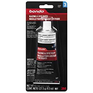 Bondo 907 Glazing and Spot Putty - 4.5 oz.