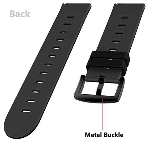 22mm-Quick-Release-Soft-Silicone-Watch-Band-Anti-Allergic-Color-Splicing-Replacement-Strap