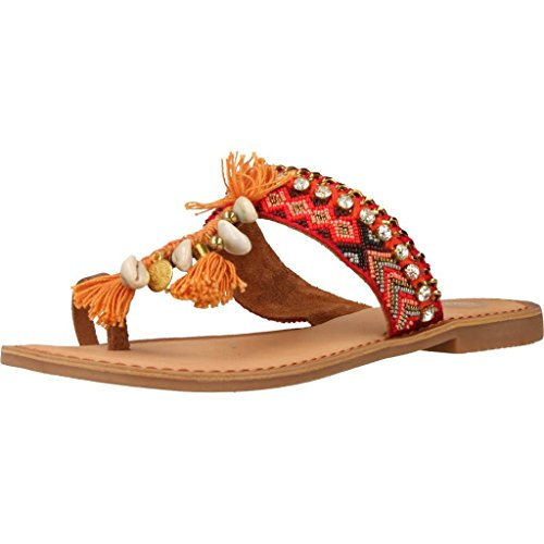 Sandalias y chanclas para mujer, color Naranja , marca GIOSEPPO, modelo Sandalias Y Chanclas Para Mujer GIOSEPPO 40495R Naranja NARANJA