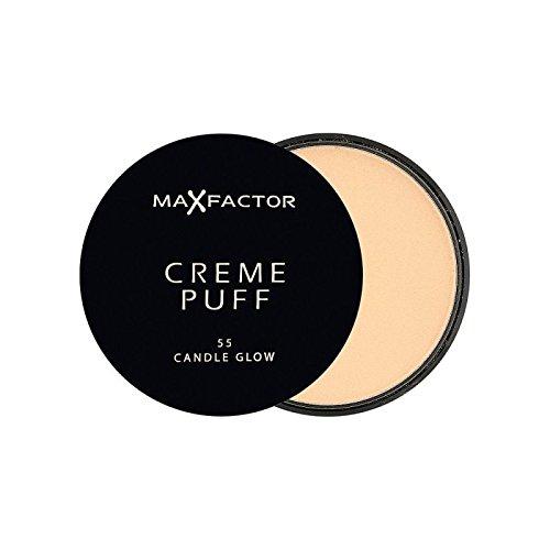 Max Factor Creme Puff Powder Compact Candle Glow 55 (Pack of 6) - マックスファクタークリームパフパウダーコンパクトろうそくは55グロー x6 [並行輸入品] B072HJ8MQM
