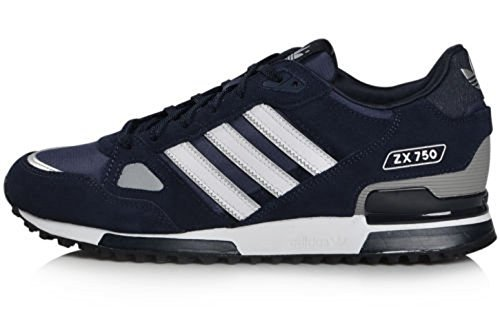 wholesale dealer 0b416 c27ce Adidas Originals Men s ZX 750 Navy Running Retro Casual Shoes Trainers (UK  11)  Amazon.co.uk  Shoes   Bags