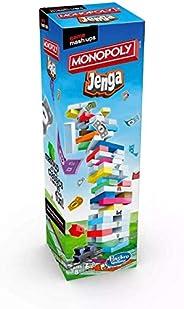 Original Jenga-Monopoly - Two Famous Fun Games in One