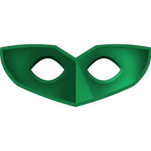 Green Lantern Masks Party Accessory