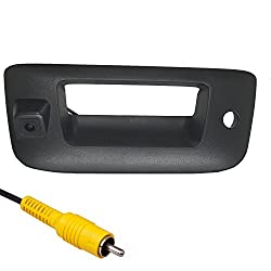 Master Tailgaters Replacement For Chevrolet Silverado Gmc Sierra 2007 2013 Black Tailgate Backup Reverse Handle With Camera