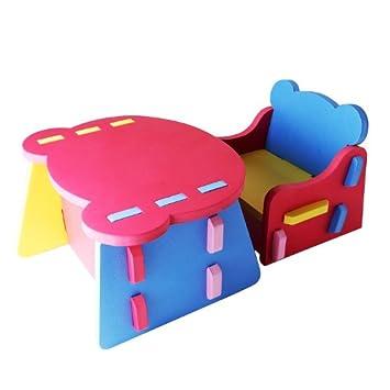 Children Desk Chair Play Mat Foam Chair Desk Set 282930cm Amazon