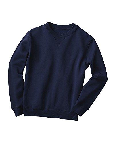 National Fleece Crewneck Sweatshirt – Easy-Care Softness in Everyday Style, Premium Fleece, Rib-Knit Cuffs & Hem