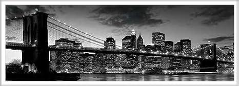 poster New York Brooklyn Bridge AN DER Soglia con accessori