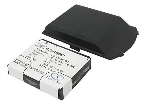 - 1900mAh Replacement Battery For CINGULAR 3125, Star trek 100