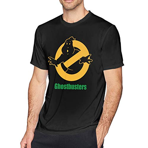 Cheny Men's Ghostbusters Logo T-Shirts Tops Casual Short