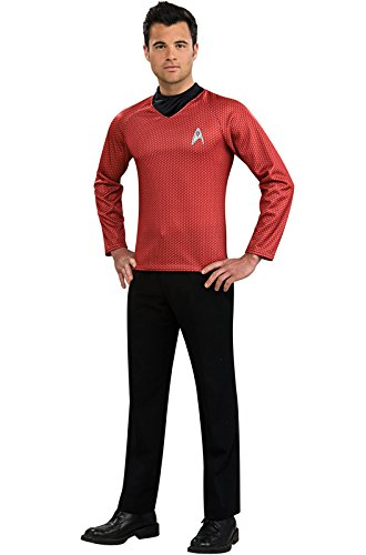 [Rubie's Costume Star Trek Into Darkness Scotty Shirt With Emblem, Red, X-Large Costume] (Red Star Trek Dress)