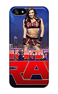 New Fashionable E-Lineage Cover Case Specially Made For Iphone 5/5s(aj Lee Wwe Raw)