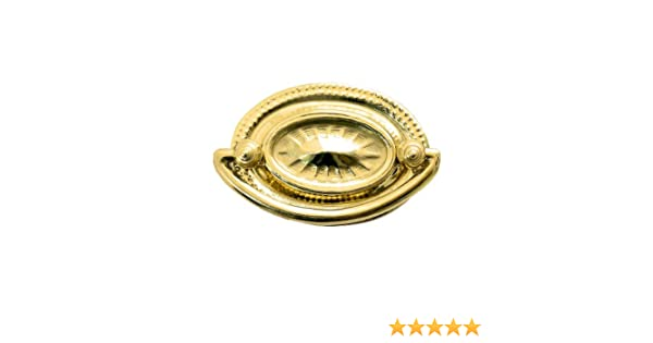Carpe Diem Hardware 154-6 Juliane Grace 1-9//16-Inch Pull Monte Verde