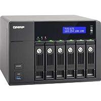QNAP TVS-671-I5-8G-US 6-Bay I5 3.0GHZ 10G 8GB DDR3 Max 12GB 4XGBE LAN 10GBE