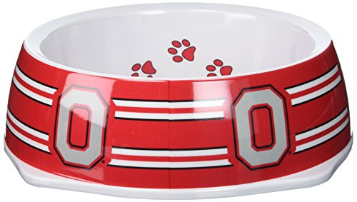 Sporty K9 Collegiate Ohio State Buckeyes Pet Bowl, Large
