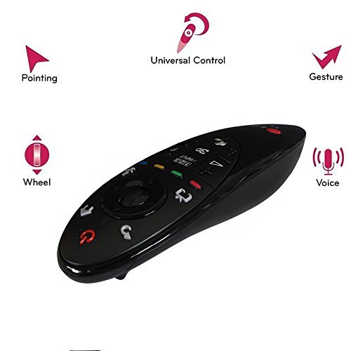 Click to buy With the ingeniously inventive LG AN-MR500 Magic Remote Control you'll be able to use your voice, gestures and point and scroll methods to operate your 2014 LG TV. Take full control of your 2014 LG Smart device with the LG ANMR500 Magic Remote.(English  - From only $69.95