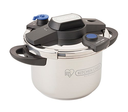 IRIS OHYAMA easy opening and closing pressure cooker 6L EH-KPC-60E by IRIS OHYAMA, Inc.