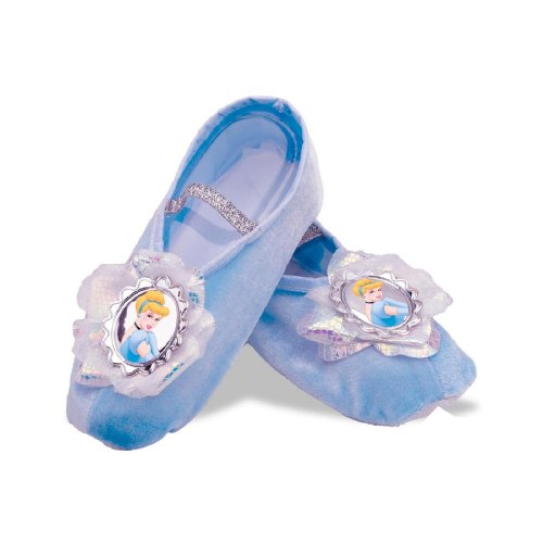 [Cinderella Ballet Slippers,One Size Child] (Cinderella Dress Up)