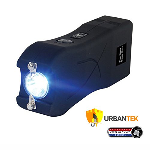 Runt 20 MILLION Volt stun gun w/LED Flashlight & Disable Pin - Black