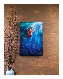 Lighted Mermaid Magic Canvas