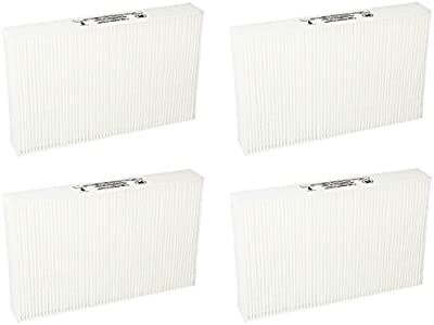 True HEPA Filter Replacement for Honeywell Air Purifier Models HPA300, HPA100 and HPA200 Compared with Part R Filter HRF-R1 HRF-R2 HRF-R3, 4 Packs