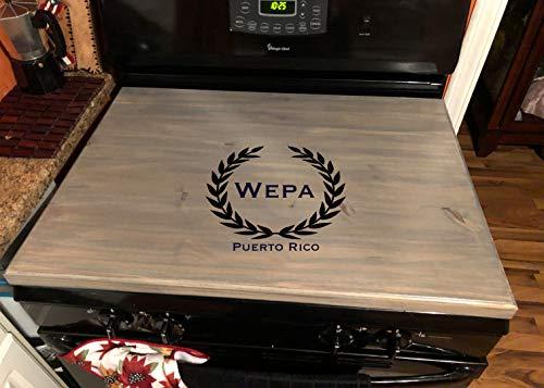 Amazon.com: Latinos r us cubierta para estufa de madera ...