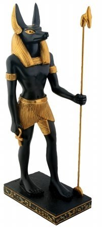 (YTC Egyptian Anubis - Collectible Figurine Statue Figure Sculpture Egypt Multi-colored)