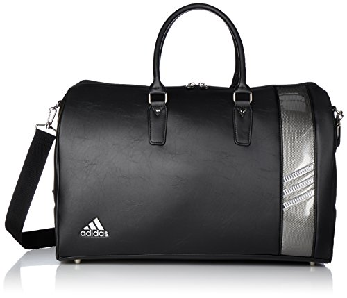 [Adidas Golf] Boston bag L50 × W24 × H 31 cm / with shoes in pocket / AWT 82 A92345 black (Messenger Boston Bag)