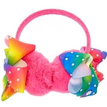 Amazon.com: JoJo Siwa Pink Bow Ear Muffs: Clothing