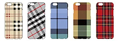 Plaid PC case for iPhone 6 and iPhone6 Plus