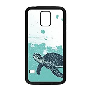 Custom SamSung Galaxy S5 I9600 Case, Zyoux DIY SamSung Galaxy S5 I9600 Case Cover - Sea Turtle