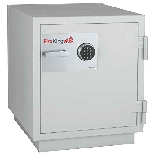 Fireking Data Safe Dm1413-3, 3-Hour Fire/Impact Rating 25-1/4 X 31 X 29-5/8 Platinum Finish