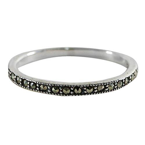 marcasite ring - 6