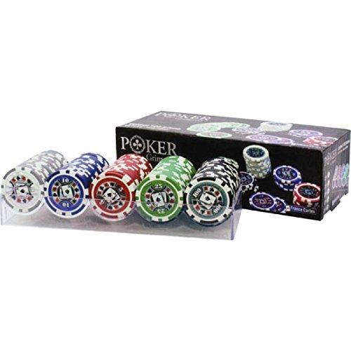 非売品 フランスカードGrimaud - ポーカー クリスタルボックス100チップ - B000OCZD0G ポーカー - B000OCZD0G, 絨毯&ギャッベ ペルシャンハウス:4bf8e499 --- arianechie.dominiotemporario.com