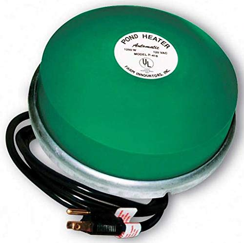 - Farm Innovators Model P-418 Premium Cast Aluminum Floating Pond De-Icer, 1,250-Watt