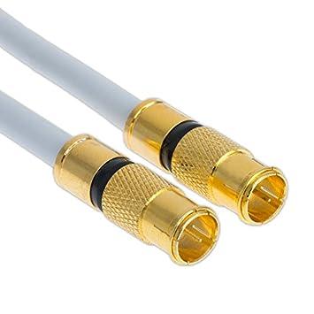 10 M satélite 135 dB Quick Conector F rápido macho Cable ...