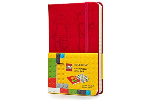 Moleskine Lego Limited Edition Hard Pocket Ruled Notebook (2014) (Moleskine Limited Edition) by Moleskine (2014-07-24) ()