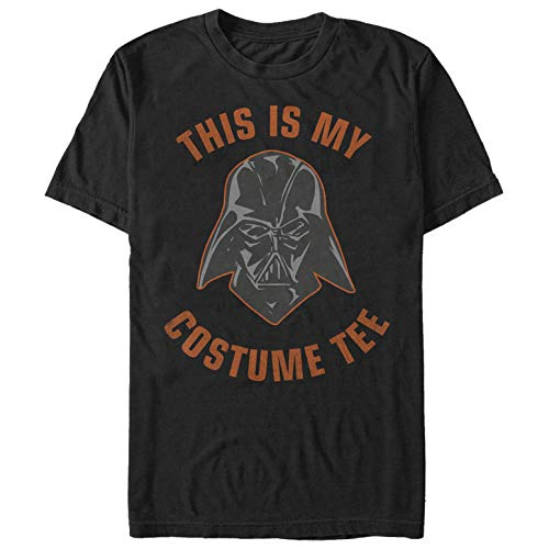 Star Wars Men's Halloween This is My Darth Vader Costume Black T-Shirt ()