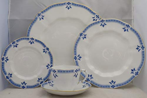 Crown 5 Piece Place Setting - Royal Crown Derby Grenville 5 Piece Place Setting