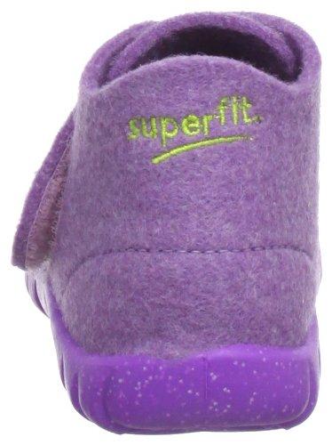 Superfit Happy 10029197 Mädchen Hausschuhe Violett (aubergine kombi 97)