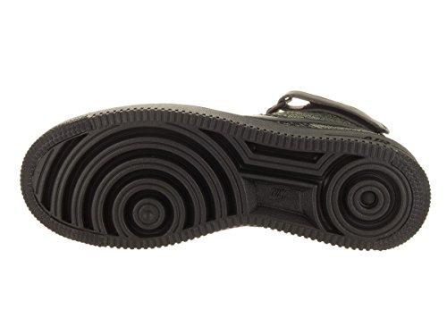 Nike AF1 Ultra Flyknit Mid, Zapatillas de Baloncesto para Hombre Negro-Verde