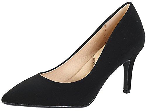 3 inch black heels - 3