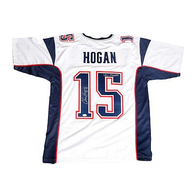 e3e5f927 Chris Hogan New England Patriots Signed Autographed Away Jersey SB ...