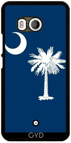Funda para Htc U11 - Bandera Del Estado De Carolina Del Sur by BruceStanfieldArtist
