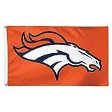 NFL Denver Broncos Deluxe Flag, 3' x 5'